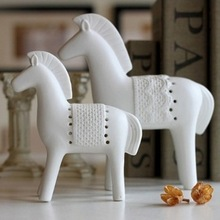 steed delicate ceramic crafts, beautiful war horse stand home decoration great gift for new year chirstmas FE300627