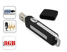 Voice Audio Recorder Recording 150Hrs /4GB Digital USB Flash Drive Disk Pen