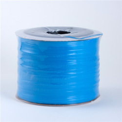tpu band bag packing blue Straight and smooth surface without any knot