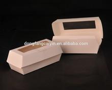 white hot dog box