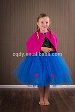New design kids christmas party dresses /hign quality flower girl tutu dresses/dresses for girls of 7 years old