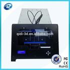 qidi manufacturer!code software 3d printer build size 225*145*150mm,automatic grade prototype plate type 3d printer