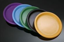 9' PS Plastic Plate/ PS Disposable Plastic tableware / Dish