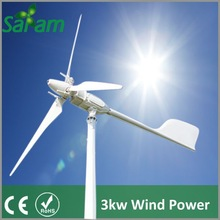 3KW Grid Tie Wind Generator Variable Pitch Type