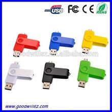 Fashion OTG USB Flash Drive 2.0 with Custom Logo
