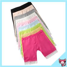 Underwear Child Model Girl Colorful Solid Leggings