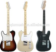 Left Hand Electric Guitar,3 Tone Burst Electric Guitar
