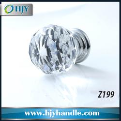Z199 metal base crystal gear knob