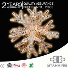 acrylic motif christmas light/street decor light street net light