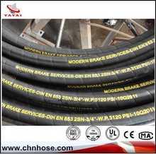Customized SAE,DIN,EN Standard Flexible fire hose rubber