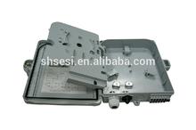 1*16 Core Plastic Material Outdoor Fiber Optic Distribution Box ,FTTH box , FTTH distribution box