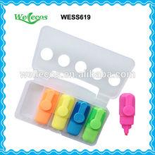 Promotional Five Colors Fluorescent Pen Set
