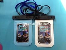 cell phone waterproof pvc bag