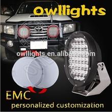 Best supplier IP68 9-32V 9 Inch 185w Round LED Offroad Light for Truck 185w LED Spot Light, led driving light for Car Accessor