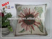 modern manufacturer decorative cushion pillow,floral cushion cover