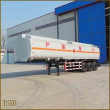 china high quality tri-axle oil tank container