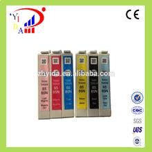 Alibaba hot sell New original ink cartridge for epson t0851-t0856 for Epson Stylus Photo T60, 1390 Inkjet printer