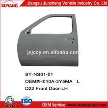 Auto Metal Front Door Auto Body Parts For Pickup Nissan D22/Frontier H010A-3Y5MAL