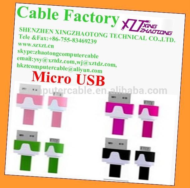 Micro Usb Kabel Flach 1m 3ft Usb 2.0 Micro Usb Kabel