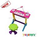 Rose orgue électrique Instrument de musique enfants jouets d'organes