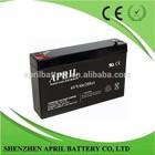 Reliable Quality VRLA battery Lead Acid Battery 6v 9Ah