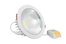 clear cover and high efficiency 30W COB led downlights 3 years warranty