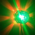 girar rgb led de cristal bolas mágicas efecto etapa con disco party dj