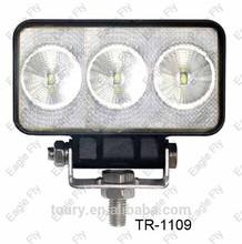 Black aluminum housing 4.3 CREE chip 9w auto led work light ,TR-1109