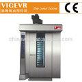 Alta eficiência 16 bandejas rotary padaria forno( forno fabricante)