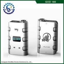 Personal vaporizer pen 180w god mod, god180 e-cig wholesale