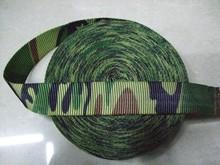 fábrica de guangzhou suministro directo 2014 nuevo estilo de nylon camuflaje militar cinturones web