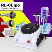 2014 New Model 4 in 1 function lipo laser & rf &cryolipolysis&cavitation slimming equipment
