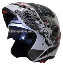 the ABS double visor flip iphelmet