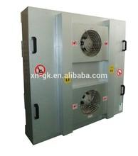 Galvanized high efficiency FFU with 2 Fans