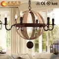 antique wooden chandelier,vintage pendant lamps,wood beaded chandelier
