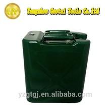 30 Liter Aluminum screw cap military jerry can container