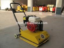5.5HP puissance d'équipement domestique vibrant compacteur sabotage