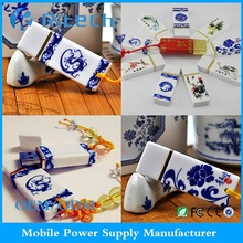 2012 newly design ceramic/porcelain usb flash drive 2gb