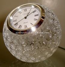 wedding favor globe crystal clock MH-0036