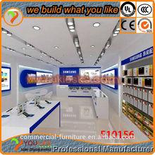 REtail cell phone shop decoration,mobile phone shop design SHOP DISPLAY UNITS