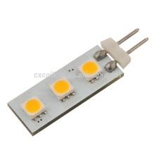 12v 0.5W 50lm 360 beam g4 led lights