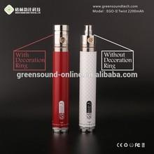 Hot and New E-Cig twist battery direct factory. ego-twist GS ego-II twist battery 2200mah