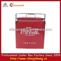 metal ice cooler chest,vintage corona metal ice cooler,retro metal ice cooler