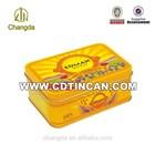 Metal tin box for biscuit chocolate bar / wedding gift Item : No CD - 034