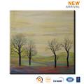 La famille décore moderne, arbre paysage peinture à l'huile
