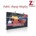 Velcro pop up display stand