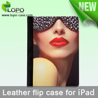 Sublimation leather tablet case for iPad Air2