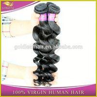 Factory direct wholesale best wavy brazilian loose wave full cuticle brazilian virgin hair unprocessed natural hair