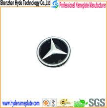 Famous brand car metal logo, Logo / Badge Type Car aluminum nameplates