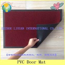 High quality hot sale pvc laminated floor mat,plastic floor mat,photo floor mats